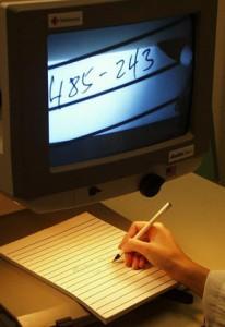 CCTV text magnifier