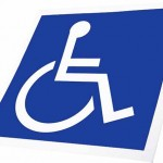Handicapped parking logo