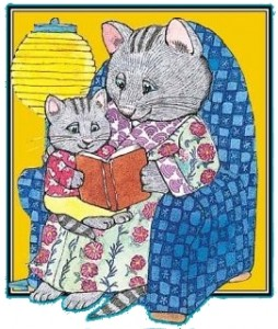 Picture of cats reading